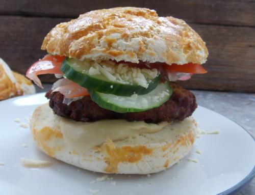 Hamburger zsemle (glutén,tej,cukor,szójamentes)
