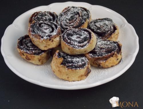 Kakaós csiga – NF (glutén,tej,cukor,szójamentes)