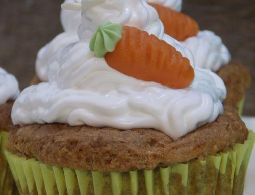 Répatorta Cupcake (glutén,tej,cukor,szójamentes)