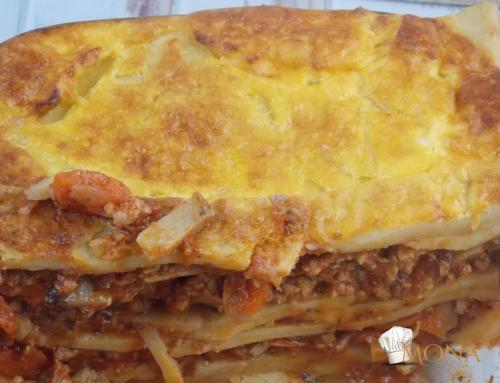 Lasagne – Aby (glutén,tej,cukor,szójamentes)