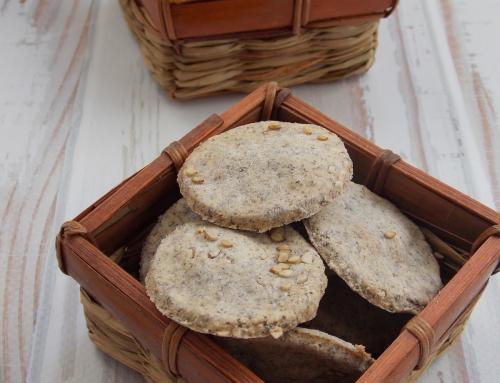 Mákos – szezámos kréker (glutén,tej,tojás,cukor,szójamentes)