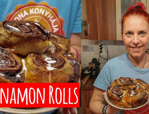 Cinnamon Rolls (glutén,tej,tojás,cukor,szójamentes,vegán)